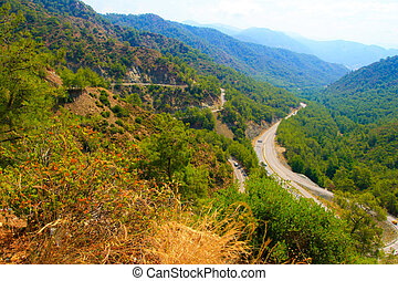Dalaman - Gocek over the mountain pass