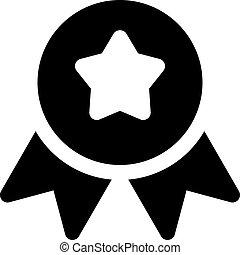 ribbon badge