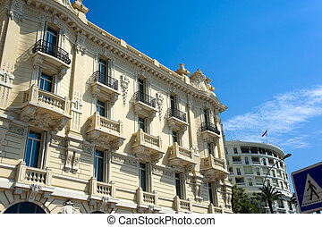 View of Monte Carlo Monaco buildings