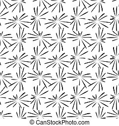 fireworks pattern (black on a white background)
