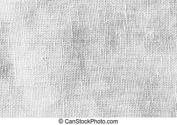 Abstract white linen fabric background