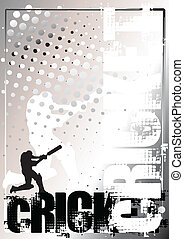 cricket poster background 2