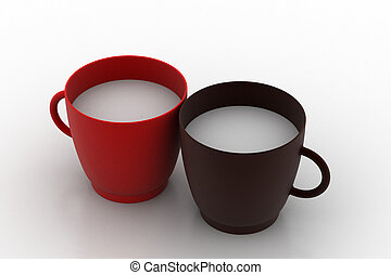 Two cup of milk