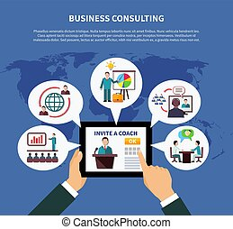 Worldwide Business Consulting Concept - Business online...
