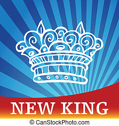 New King - An image representing a new king.