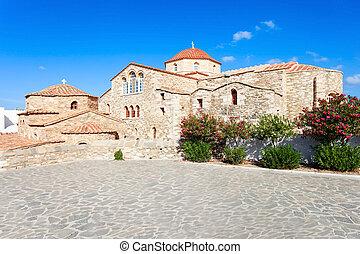 Panagia Ekatontapyliani Church, Paros