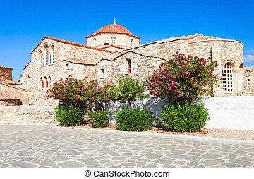 Panagia Ekatontapyliani Church, Paros - Panagia...