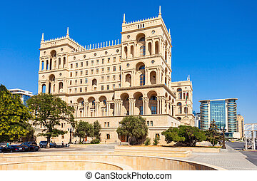 Government House of Baku - The Government House of Baku is a...