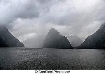 Fiordland National Park New Zealand landscape