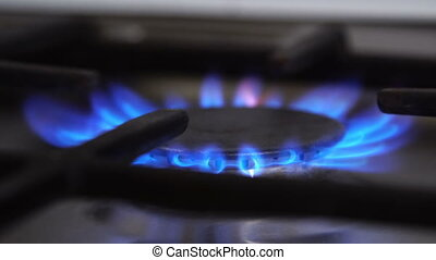 Gas burners, the inclusion and combustion of gas
