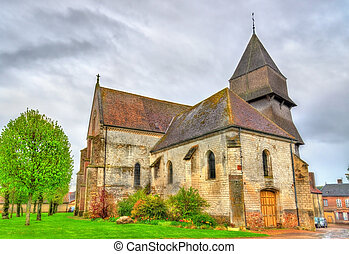 Collegiate church of the Assumption of Mary in...