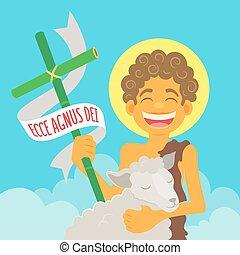 Saint John Baptist, honoured in brazilian june parties -...