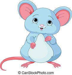 Cute Mice - Illustration of cute mice
