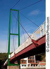 Bridge in Muskiz, Bizkaia, Spain - Bridge in Muskiz,...