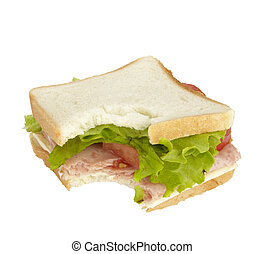 sandwich food eating snack meal - close up of sandwich on...