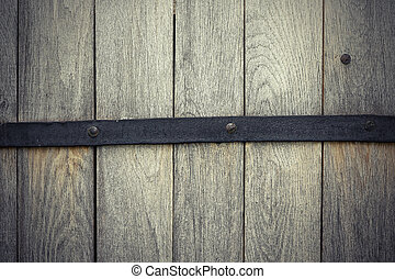 detail on oak wooden door, texture for your design