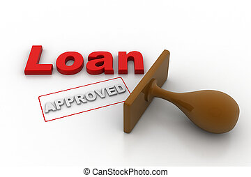 Approved the loan application