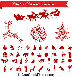 Christmas Holiday Elements