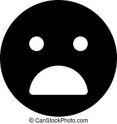 anguished emoji