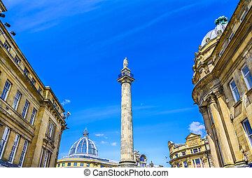 Grey's Monument, Newcastle, UK - Grey's Monument, Newcastle...