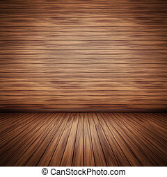 wooden floor - An image of a nice wooden floor background