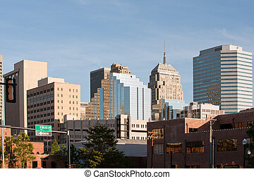 Oklahoma city - Office buildings of Oklahoma city downtown,...