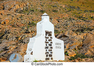 Mirador in the mountains of Betancuria in the southern part...