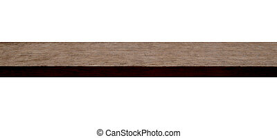 A Mahogany Plank - A planed section of hardwood