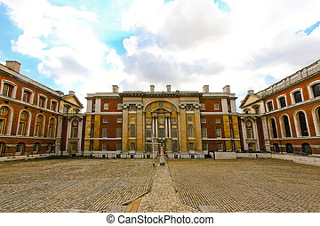 Greenwich University - Courtyard of Greenwich University...