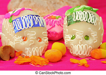 Day of the Dead Skulls - Sugar skulls from a day of the day...