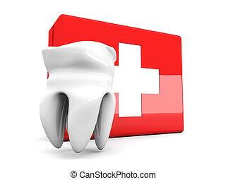 dente, primeiro, ajuda