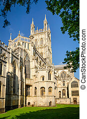 catedral, este,  Gloucester
