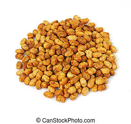 Large serving of roasted soy nuts