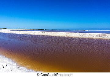Pool of Brown Water - Pool of brown water used in the...