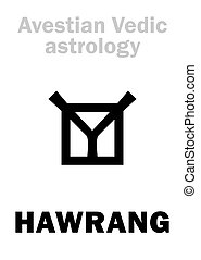 Astrology: astral planet HAWRANG - Astrology Alphabet:...