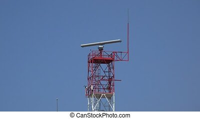 Communications Or Radar Tower