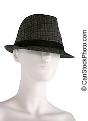 Hat on a mannequin