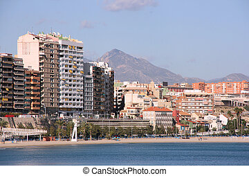 Alicante, Spain Modern part of the Spanish seaside city