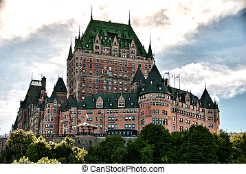 Majesty of Chateau de Frontenac, Quebec City - Majesty of...
