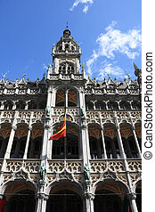 Brussels, Belgium Famous building: Maison du Roi The Kings...