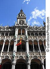 Brussels, Belgium. Famous building: Maison du Roi (The...