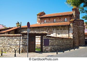 Church of St. Stephen in old town of Nessebar, Bulgaria