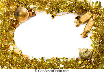 Christmas wreath - Christmas composition in form of circle...