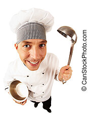 cocinero, uniforme