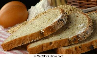 Delicious Fresh Bread Food Concept