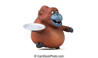 Fun orang outan - 3D Animation