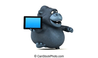 Fun gorilla - 3D Animation