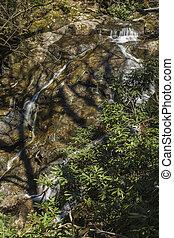 Glen Burney Trail, Blowing Rock, NC - Glen Burney Trail in...