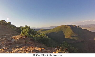 South Africa Camdeboo - Adventure in the African mountain of...