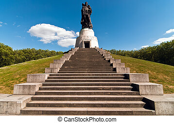 Berlin monument Soviet soldiers V1 - Memorial Soviet...